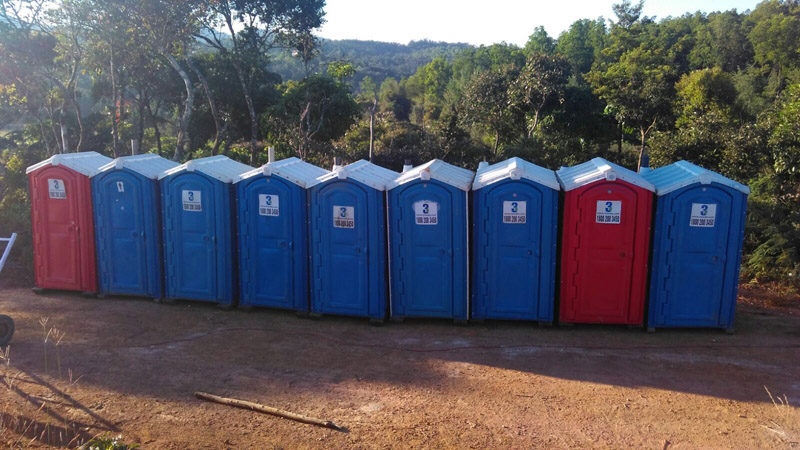 Portable Toilet Exhibition : Portable sanitation for event at 3s india
